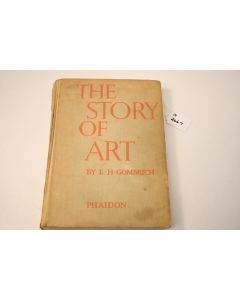 The Story of Art Hardbound Book Nonfiction History Illustrations Gombrich