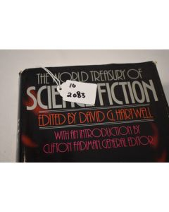 The World Treasury Of Science Fiction Hardbound Book SciFi Collection Stories