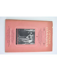 1958 Captions Courageous or Comments From The Gallery By Bob Reisner & Hal Kapplow