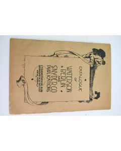 Catalogue Of Waterson Berlin And Snyderco Publications Music- good condition, light signs of wear due to age