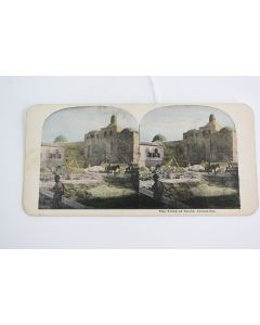 Vintage The Tomb Of David, Jerusalem Stereoview Photograph Picture Card