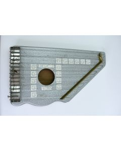 Metal 15.25-Inch Zither Concerto Missing Two Strings