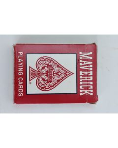 Maverick Poker No. 1205 Playing Cards W/Red Backs Horse Joker 2001 Made In U.S.A