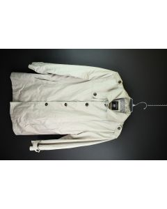 Canda 1925 Mens Outdoor Casual Button Up Khaki Tan Lined Cotton Jacket Size 52