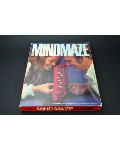 Vintage 1970 Mind Maze Strategy Game Parker Brothers Inc. No. 73 For Ages 8+ USA