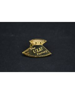 The ULU Factory Handle Knife Gold Pin Collectible