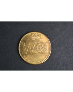 1862-1962 100th Anniversary West Orange New Jersey Good For 50 Cents Metal Token