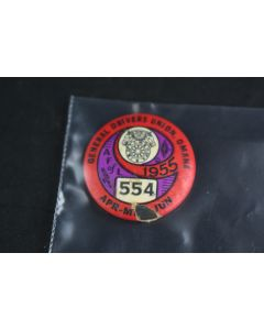 Vintage General Drivers Union Omaha NE 1955 AF Of L 554 Apr May Jun Round Pin