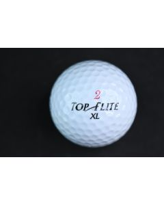 Spalding Top Flite 2 XL White Golf Ball More Roll Pure Distance Sporting Goods