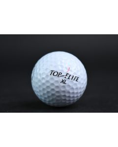 Spalding Top Flite 1 XL More Roll Pure Distance White Golf Ball Sporting Goods