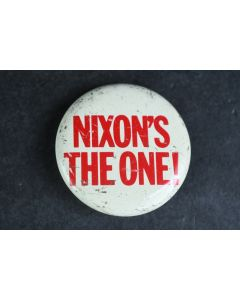 Vintage Nixon's The One! Vintage Collectable Presidential Political Campaign Pin