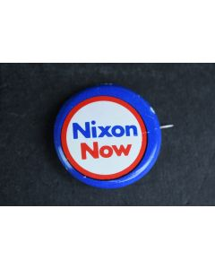Vintage Nixon Now Presidential Political Campaign Collectable Backpack Mini Pin