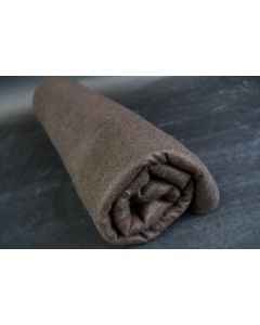 Dark Brown Chocolate Felt Fabric Remnant Sewing Soft Material Arts & Crafts