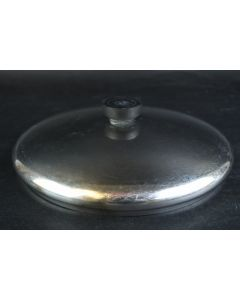 Metal Round Sauce Cookware Cooking Pot Replacement 8.75 In. Lid With Handle Only