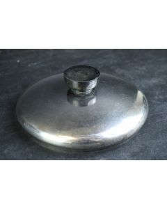 Metal Round Sauce Kitchen Cooking Pot Replacement 6 In. Lid With Handle Only