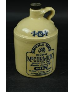 McCormick Extra Dry Distilled From Grain London Gin Jug Liquor Bottle 101 Proof