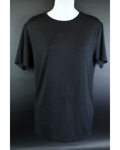 32 Degrees Cool All Black Men's Small Stretchy Athletic Short Sleeve Crew Shirt