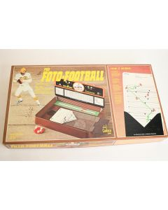 Vintage 1977 Cadaco #164 Pro Foto Real Football Strategy Board Game Ages 12+