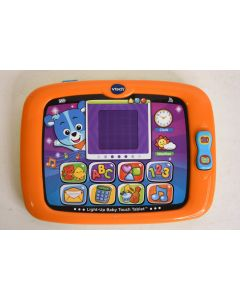 Vtech Light Up Baby Touch Tablet W/Camera & Music Electronic Learning Infant Toy