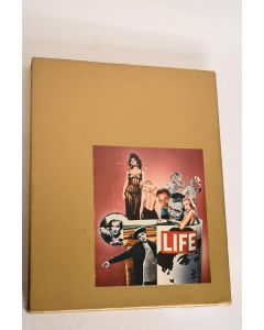 Vintage 1975 Life Goes To The Movies Time Life Illustrated Hardbound Book W/Case