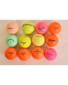 12 Pc. Assorted Pinnacle Top Flite ProStaff X-outs & Flying Lady Golf Ball Set