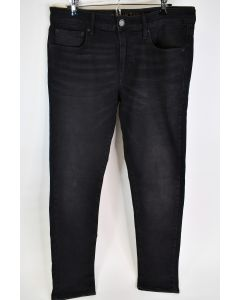 American Eagle Outfitters Men's Skinny Extreme Flex Black Wash Jeans Size 34W/34L