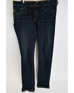 Abercrombie & Fitch NY Mens Super Skinny Cotton Blue Button Fly Jeans Size 34/34