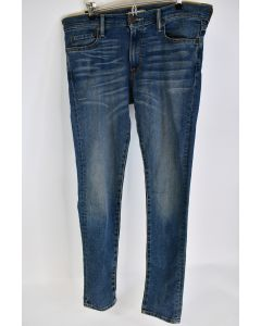 Abercrombie & Fitch NY Men's A&F Stretch Skinny Cotton Blue Jeans 33/34 W/Tags