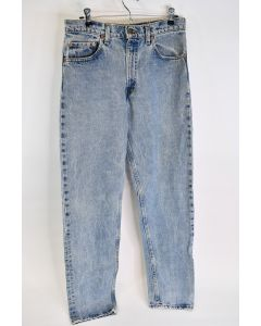 Levi Strauss 550 Relaxed Fit Tapered Leg Mens Cotton Blue Denim Jeans Size 32/34
