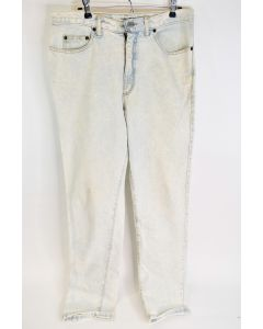 Vintage Guess Georges Marciano Men's Cotton White Washed Denim Jeans Size 34