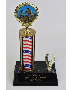 Omaha-Valley Scottish Rite 2003 Fall Outing 2nd Place Horseshoe Contest Trophy