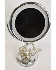 Conair Lighted Round Makeup Double-Sided Mirror W/Magnification BE70 Works