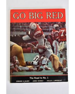 GO BIG RED The Road To Number 1 Paperback Book By Howard Silber Vintage 1971