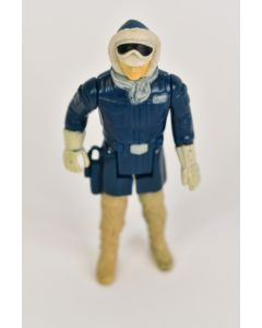 Hans Solo 1980 Star Wars Poseable Action Figure In Hoth Uniform Collectible Toy