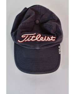 Titleist Gray Blue 100% Cotton Baseball Cap W/Adjustable Strap One Size Fits All