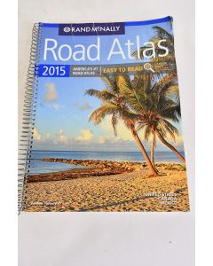 2015 Rand McNally Road Atlas Paperback Maps Of United States Canada And Mexico