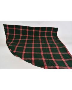 Round Green & Red Tablecloth 100% Cotton Made In India 69016 Machine Wash