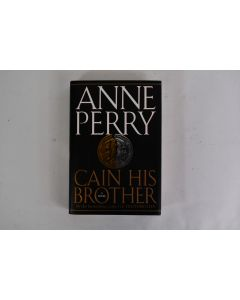 Anne Perry Cain His Brother Novel 1995 First Edition Hardbound Book