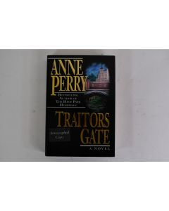 Anne Perry Traitors Gate Novel Autographed Copy 1995 First Edition Hardbound