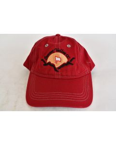 Cap America Red Cap with Sunset Valley CC Embroidered Logo