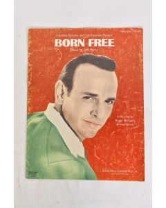 VTG 1966 Columbia Pictures & Carl F. Present Born Free Sheet Music By John Barry