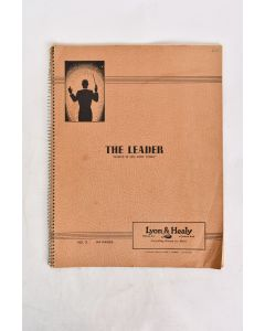 VTG. 1939 The Leader Master of Fine Music Papers No.3 Spiral Bound Book 64 Pgs.