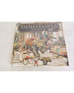 DINOTOPIA By James Gurney 1992 Hardbound Book With Dustcover W/ 159 Pages
