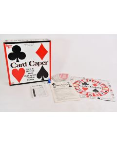 Card Caper University Games Reveal Hidden Cards 2-4 Players Ages 8 to Adult