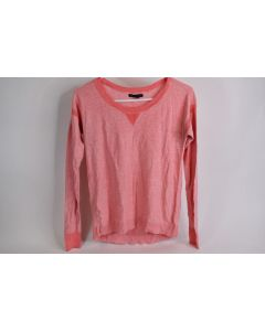 American Eagle Outfitters Womens Pink/Ivory Lightweight Pullover Sweater Size XS