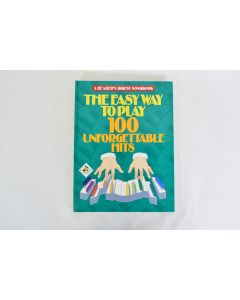 Reader's Digest The Easy Way To Play 100 Unforgettable Hits 1991 Hardbound Book