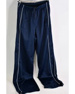 Athletic Works Navy Blue 100% Polyester Activewear Pants Men's Size Small(28-30)