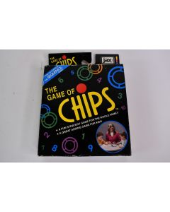 Vintage 1999 THE GAME OF CHIPS Family Strategy Game #3000 Complete