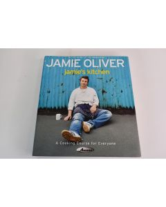Jamie's Kitchen By Jamie Oliver A Cooking Course For Everyone Hardbound Book Copyright 2002
