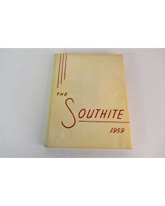 The Southite 1959 Sioux City IA Class of 59 Yearbook